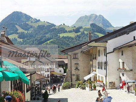 Gruyères, Canton de Fribourg, Suisse
