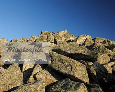 Rocks, Achtermann Summit, Harz National Park, Lower Saxony, Germany