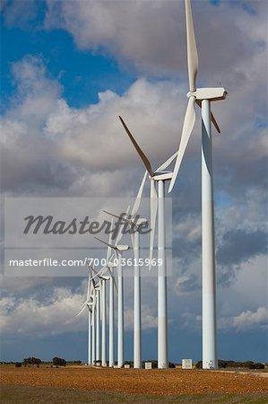 Wind Farm, Albacete, Kastilien-La Mancha, Spanien