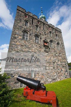 Rosenkrantz-Turm, Bergen, Hordaland, Norwegen