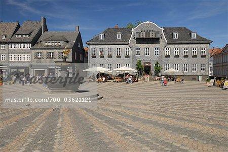 Kaiserringhaus, Market Square, Goslar, Goslar District, Harz, Lower Saxony, Germany