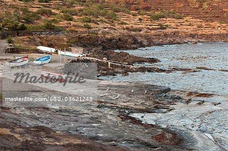Boat Ramp, Pantelleria, Province of Trapani, Sicily, Italy
