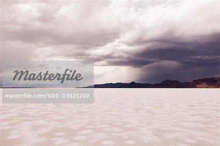 Salt Flat, West Wendover, Elko County, Nevada, USA