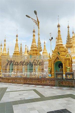 Pagode Shwedagon de Rangoon, Division de Yangon, Myanmar