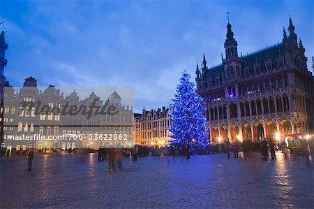 Rathaus und Grand Place, Brüssel, Belgien