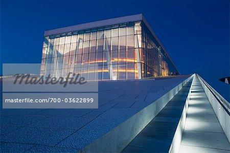 Oslo Opernhaus, Oslo, Norwegen, Norwegen