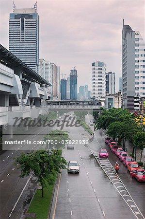 Wongwian Yai Station, Bangkok Mass Transit System, Bangkok, Thaïlande