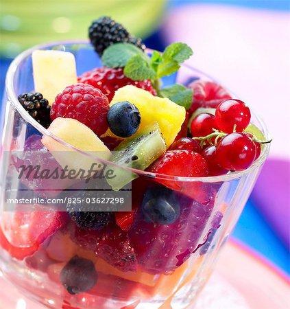 Gemischter Obstsalat