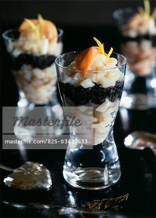 Scallop tartare and caviar