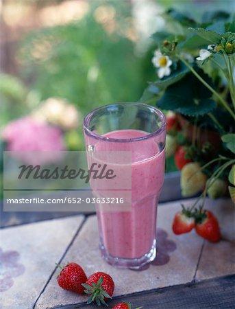Boisson de jus de fruits Framboises