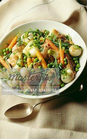 Navarin d'agneau aux petits légumes