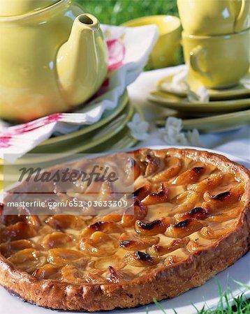 Tarte aux abricot