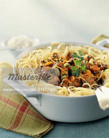 Gremolata spaghettis