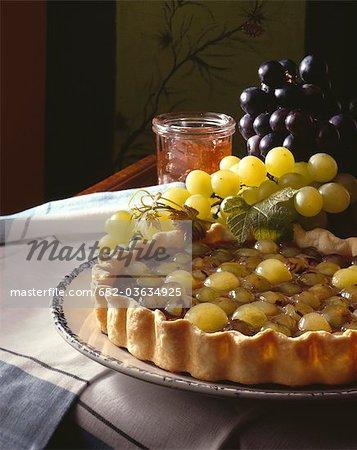 Tarte aux raisin