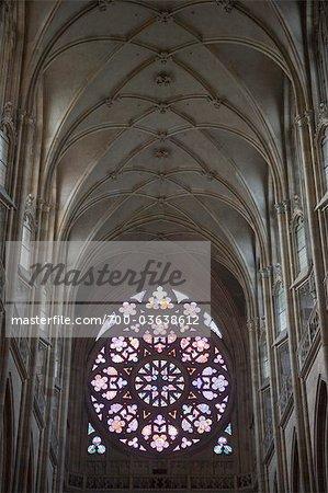 Saint Vitus cathédrale, Hradcany, Prague, République tchèque