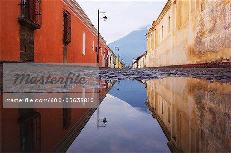 Street, Antigua, Sacatepequez Department, Guatemala