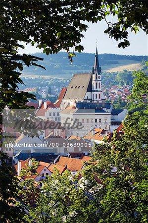 Cesky Krumlov, South Bohemian Region, Bohemia, Czech Republic