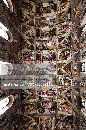 Le Musée du Vatican, cité du Vatican, chapelle Sixtine Rome, Italie