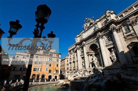La fontaine de Trevi, Rome, Italie