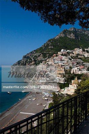 Positano, Amalfi Coast, Province de Salerno, Campanie, Italie