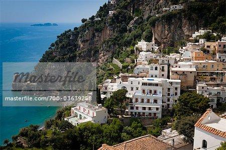 Positano, la côte d'Amalfi, Italie