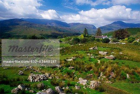 Black Valley vom Molls Gap, Killarney Nationalpark, County Kerry, Irland; Felsige Scenic