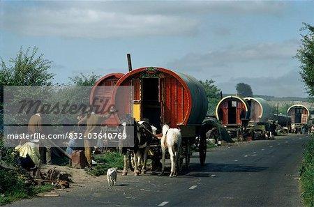 Gypsy Caravan, Irlande