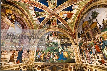 The Church of Santa Maria Maggiore, Spello, Umbria, Italy