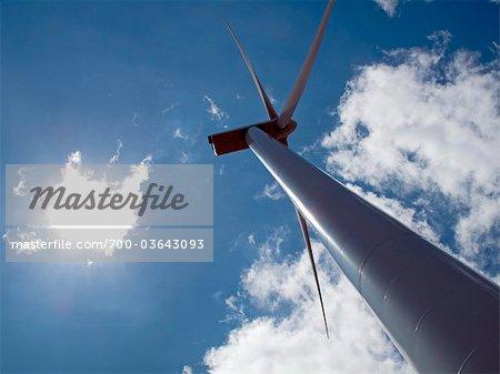 Wind Turbine, Albacete, Castilla La Mancha, Spain