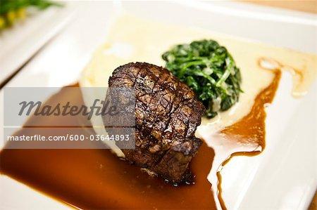 Steak and Vegetables