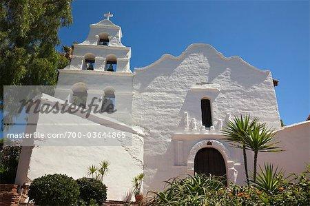 Mission Basilica San Diego de Alcala, San Diego, Californie, USA