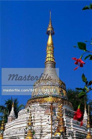 Thaïlande, Chiang Mai, Wat Saen Fang
