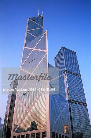 China,Hong Kong,Central,Bank of China,Architect I.M.Pei
