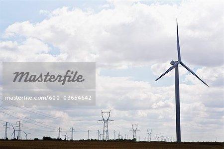 Wind Turbines, France