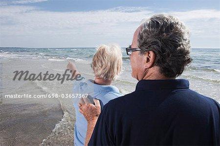 Femme et l'homme de l'eau