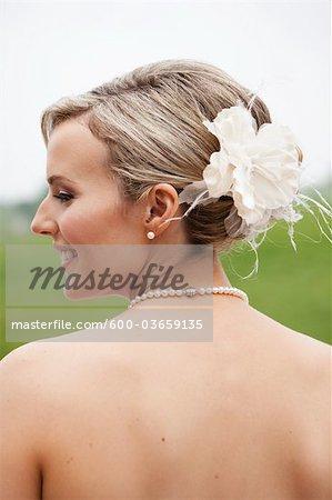 Porträt der Braut