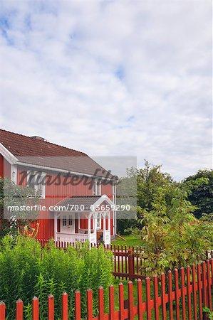 Rote Holzhaus, Bullerbue, Smaland, Schweden
