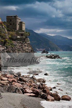 Monterosso al Mare, Levanto, Province de La Spezia, côte ligure, Italie