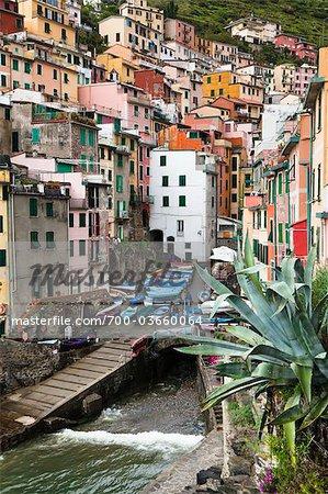 Riomaggiore, Cinque Terre, Province of La Spezia, Ligurian Coast, Italy