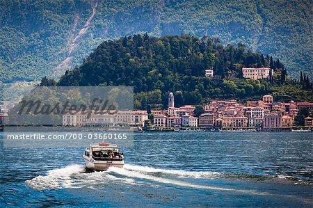 Bellagio, lac de Côme, la Province de Côme, en Lombardie, Italie