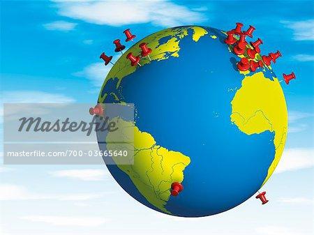 Punaises en Globe