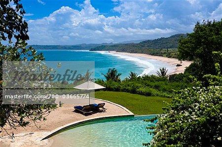 Piscine à Nihiwatu Resort, Sumba, petites îles de la sonde, Indonésie