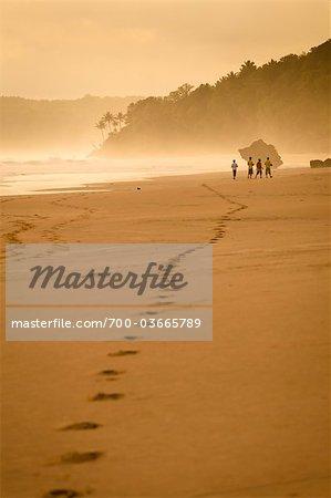 People Walking on Beach, Nihiwatu, Sumba, Indonesia