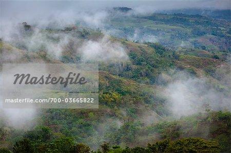 Nuageux paysage, Lapale, Sumba (Indonésie)