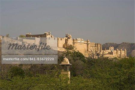 Le Fort d'Amber à Jaipur, Rajasthan, Inde, Asie