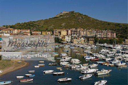 Capraia, Porto Ercole, portobellos, Toscane, Italie, Europe