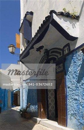 Kasbah des Oudaïas, Rabat, Maroc, l'Afrique du Nord, Afrique
