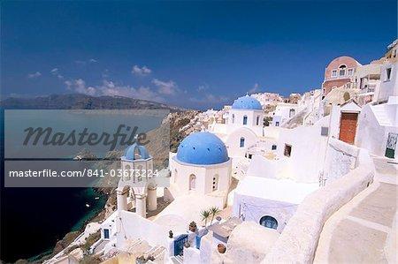 Oia (Ia), Insel der Kykladen, griechische Inseln, Griechenland, Aegean, Santorini (Thira), Europa