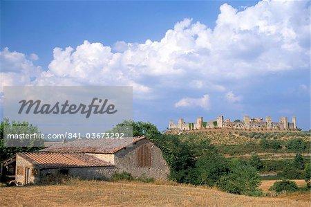 Monteriggioni, Siena province, Tuscany, Italy, Europe