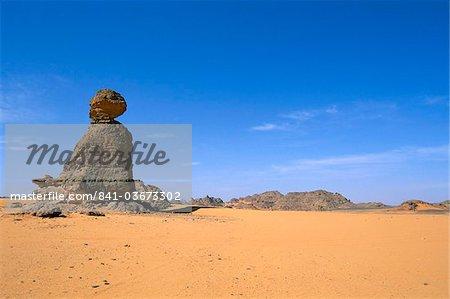 Akakus, Sahara desert, Fezzan (Libye), l'Afrique du Nord, Afrique